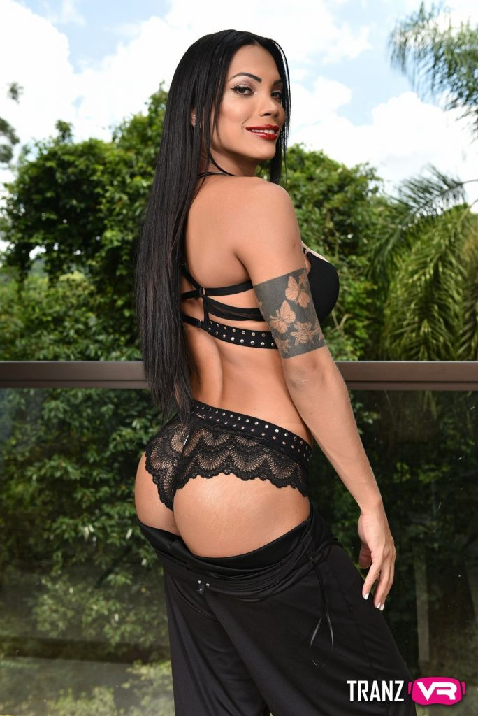 TranzVR - Janny Costa shemale beauty in thong