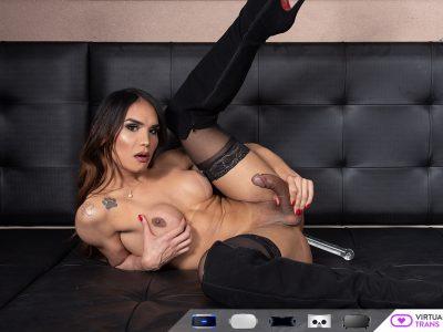 Kalliny Nomura lingerie vr masturbation