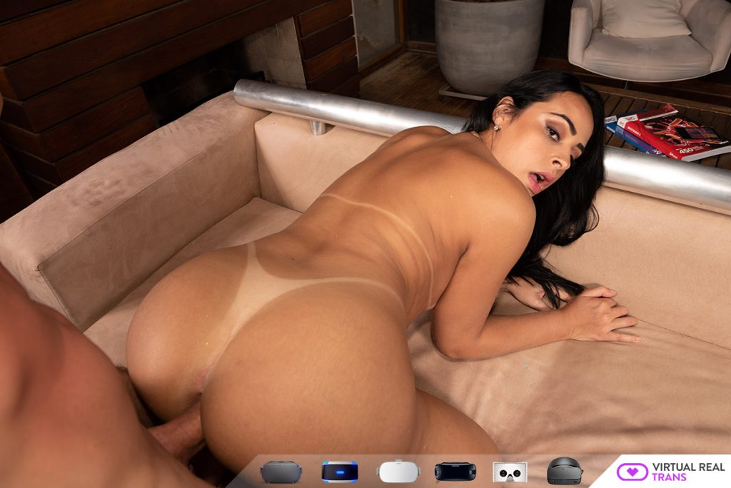 shemale Latina vr 3d sex movie