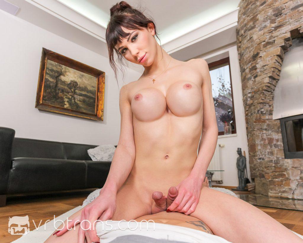 big tits tranny sex in vr