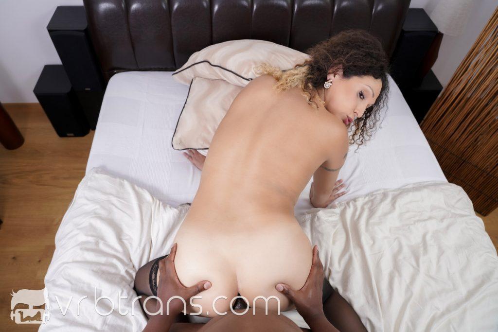 Nikki Montero fucked doggy style black cock