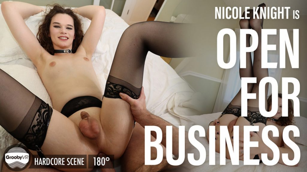 Nicole Knight Is Open For Business